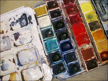 Watercolor Color Palette Watercolor Palette These