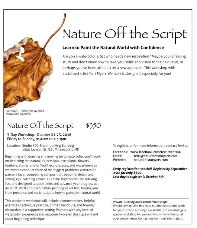 Nature Off the Script